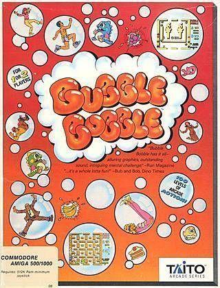 Bubble Bobble (USA) Game Download Amiga 500