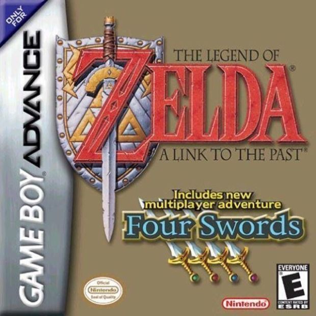 Legend Of Zelda, The – A Link To The Past Four Swords (USA) Game Download Gameboy Advance