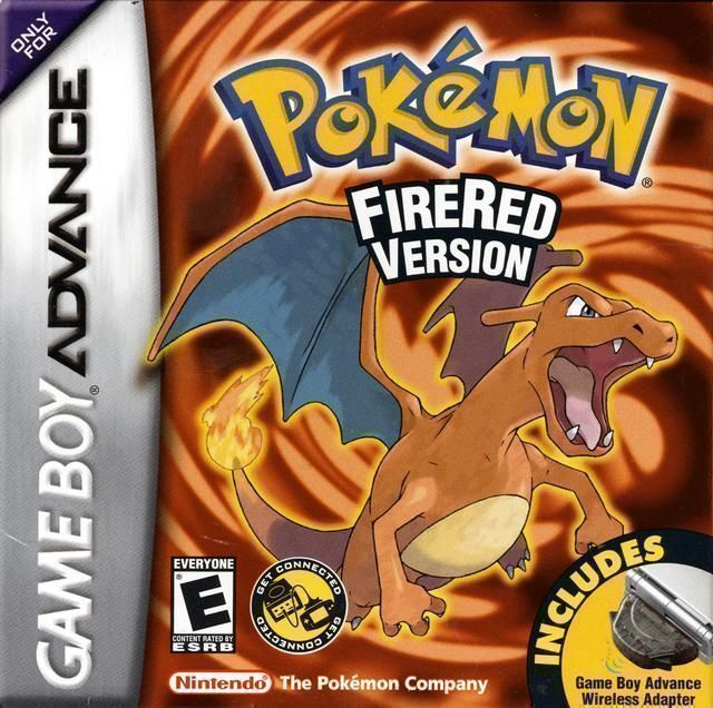 Pokemon - Fire Red Version (V1.1) (USA) Game Cover
