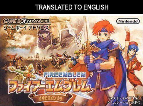 Fire Emblem - Sealed Sword (Translated) (USA) Game Cover
