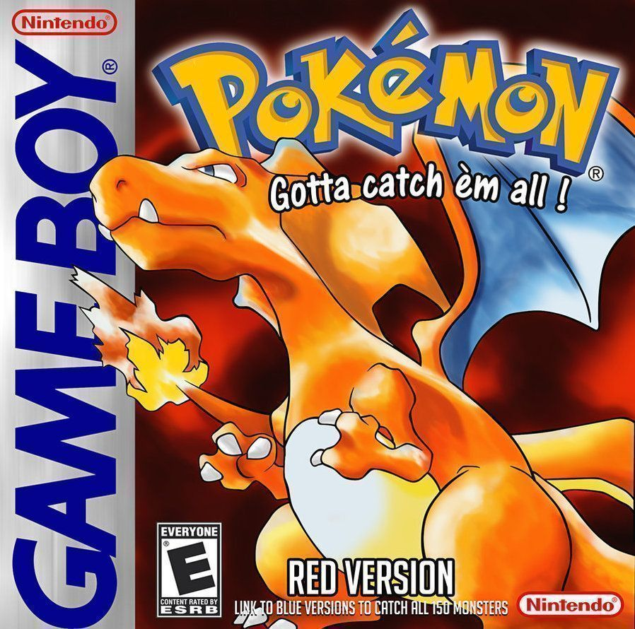 Pokemon - Red Version (USA) Game Cover