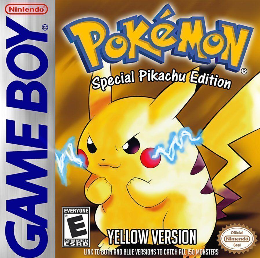 Pokemon - Yellow Version (USA Europe) Game Cover