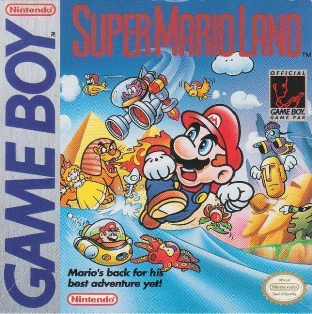 Super Mario Land (JUE) (V1.1) (USA) Game Download Gameboy
