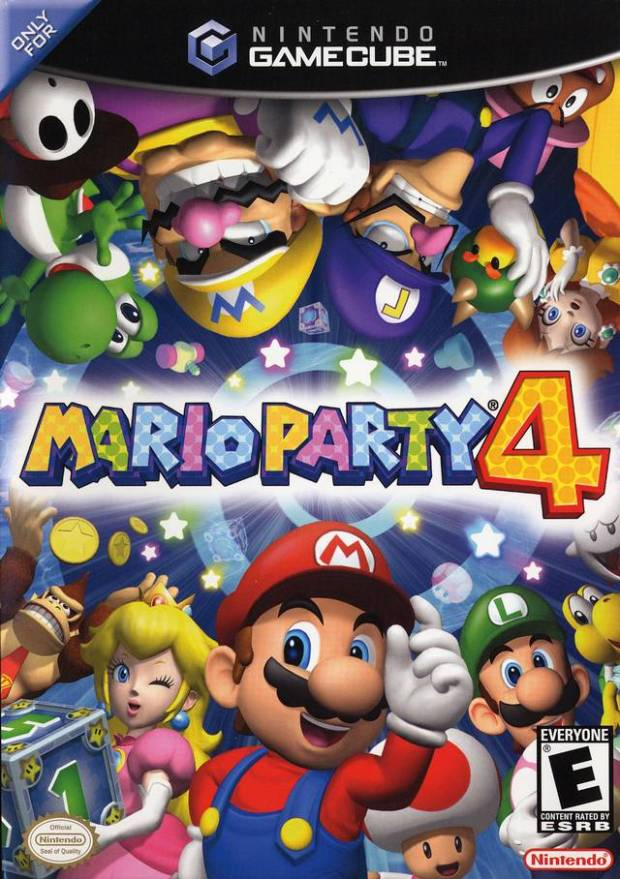 Mario Party 4 (USA) Game Download GameCube