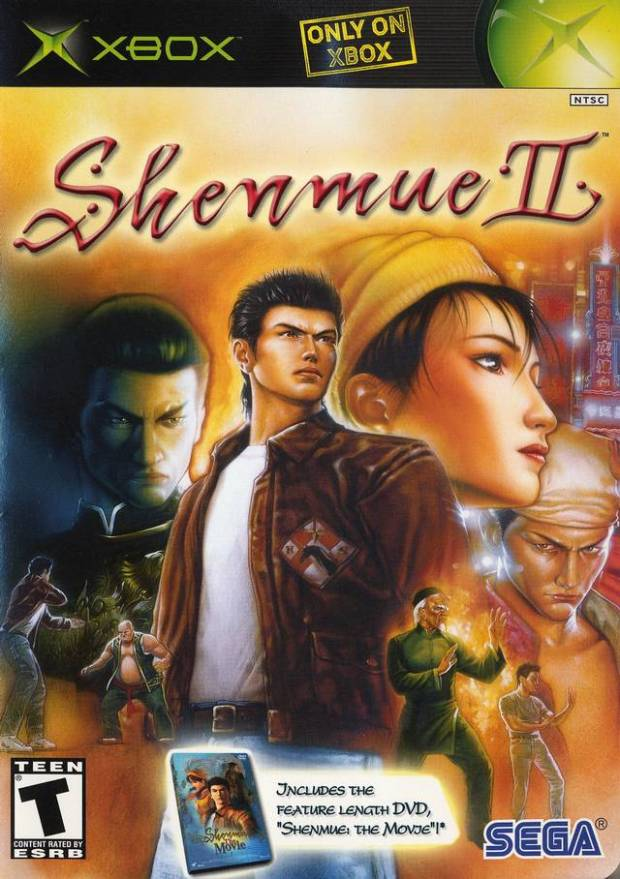 Shenmue II (USA) Game Download Microsoft Xbox