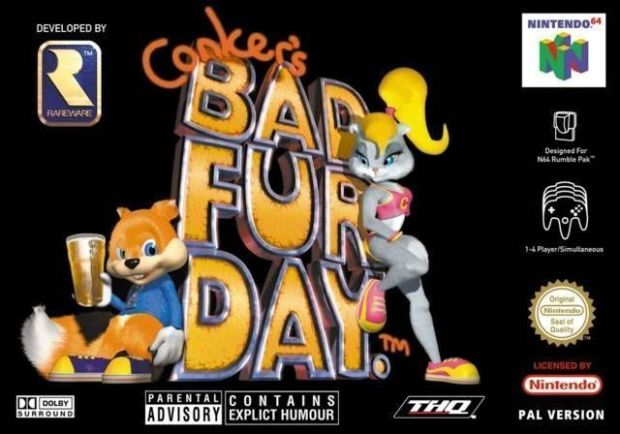Conker's Bad Fur Day (USA) Game Download Nintendo 64