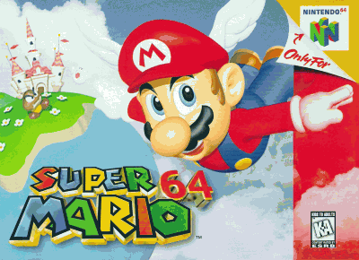 Super Mario 64 (USA) Game Cover