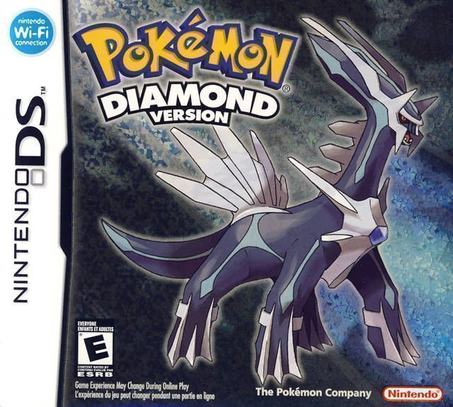 Pokemon Diamond (USA) Game Cover