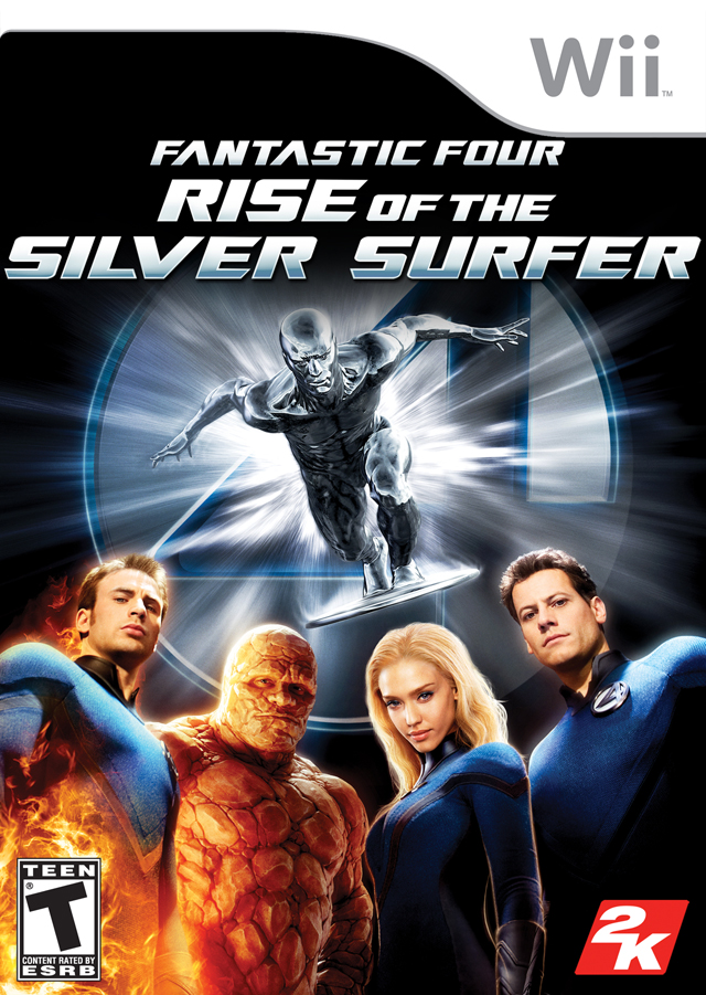 Fantastic Four - Rise Of The Silver Surfer (USA) Game Cover