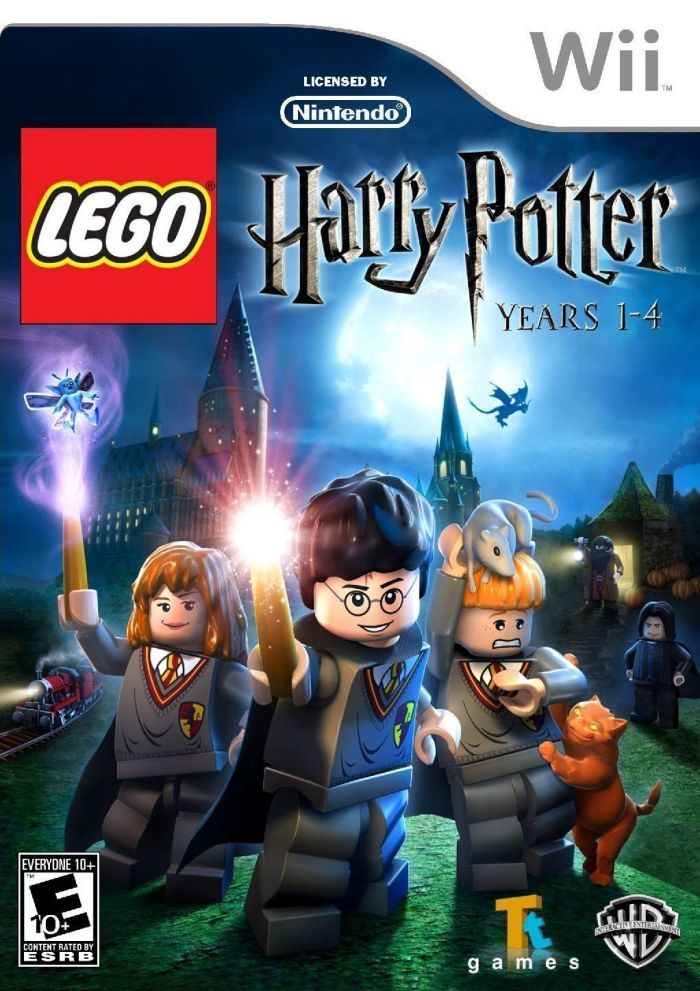 LEGO Harry Potter - Years 1-4 (USA) Game Cover