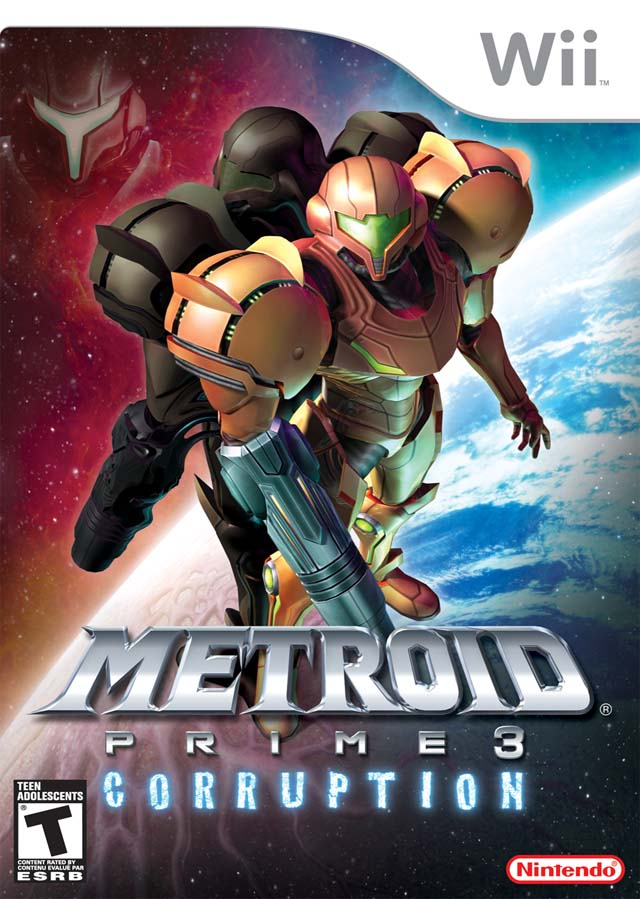 Metroid Prime 3- Corruption (USA) Game Cover