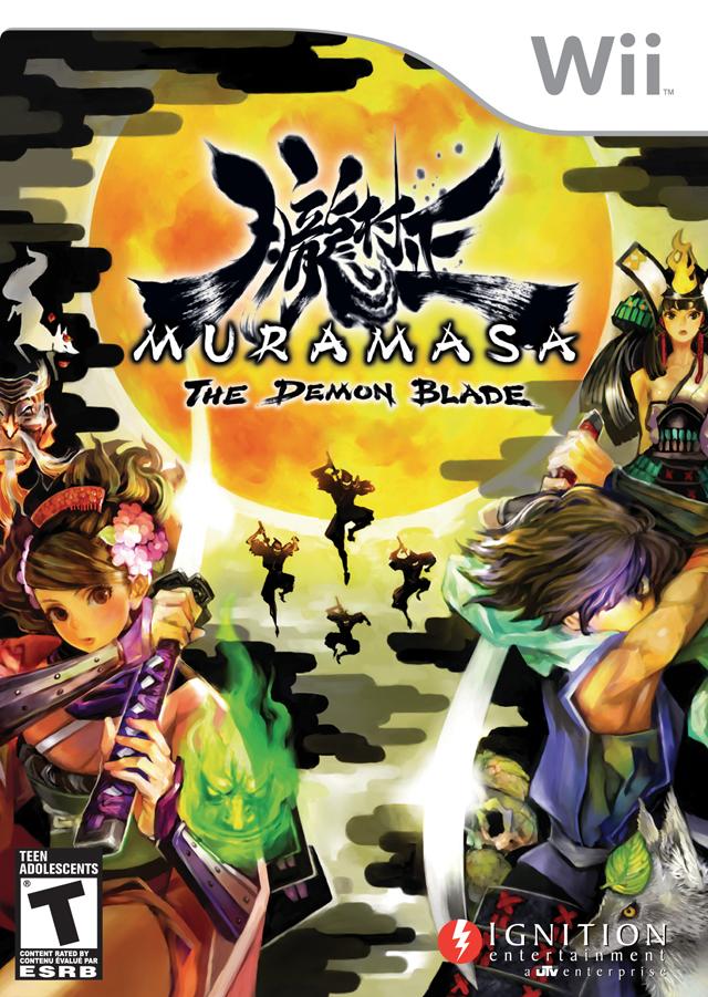 Muramasa- The Demon Blade (USA) Game Cover