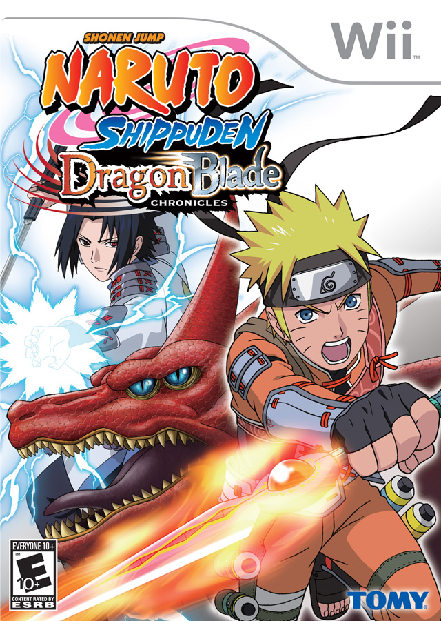 Naruto - Dragon Blade Chronicles (USA) Game Cover