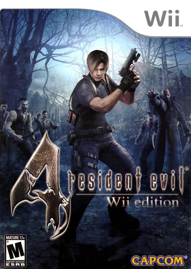 Resident Evil 4 (USA) Game Cover