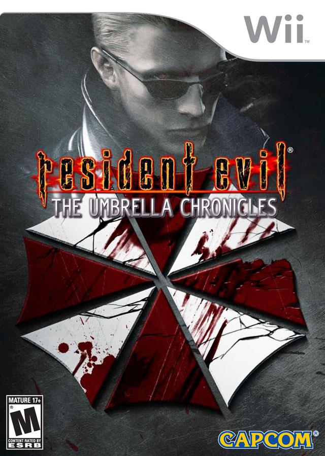 Resident Evil - The Umbrella Chronicles (USA) Game Cover