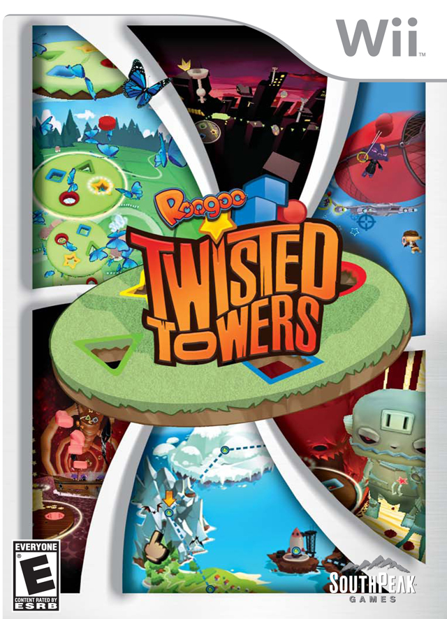 Roogoo- Twisted Towers (USA) Game Cover