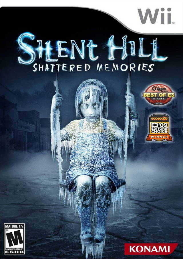 Silent Hill- Shattered Memories (USA) Game Cover