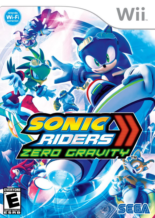 Sonic Riders - Zero Gravity (USA) Game Cover