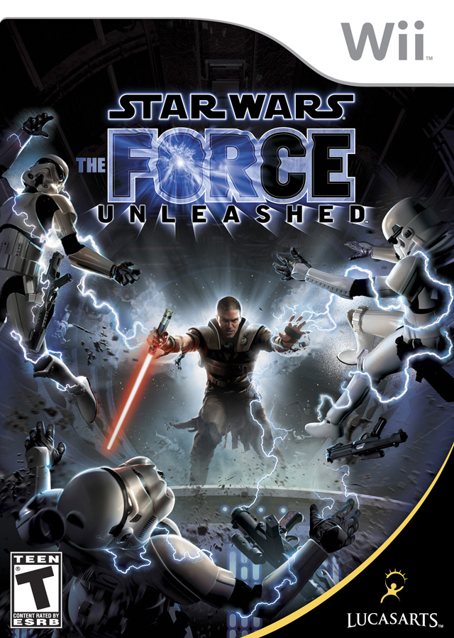 Star Wars - The Force Unleashed (USA) Game Cover