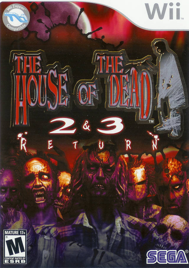 The House Of The Dead 2 & 3 Return (USA) Game Cover