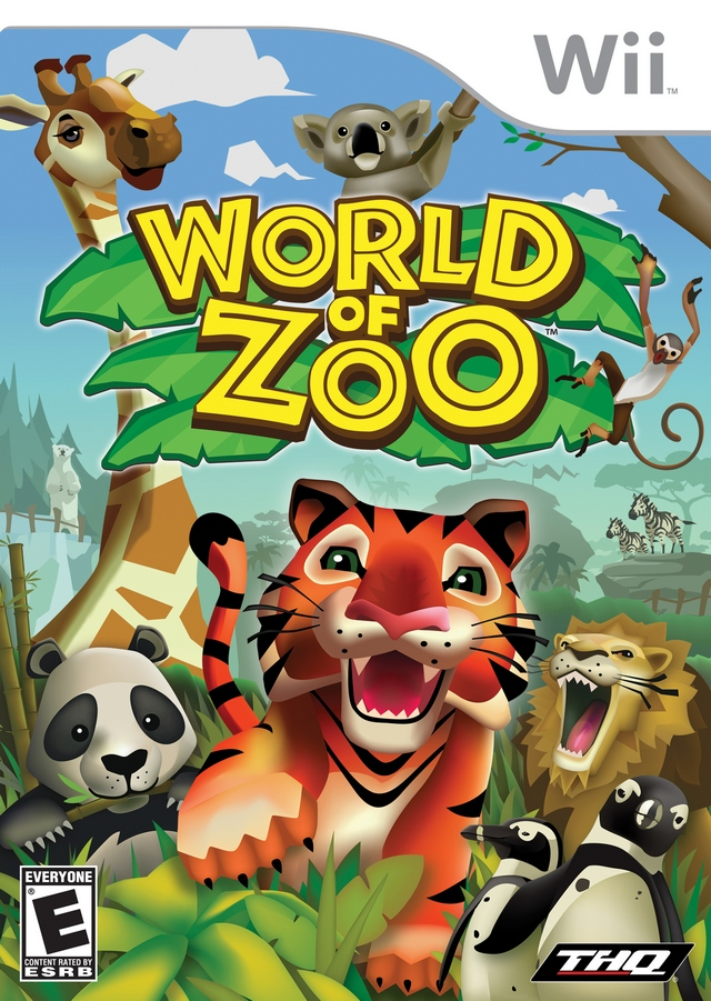 World Of Zoo (USA) Game Cover