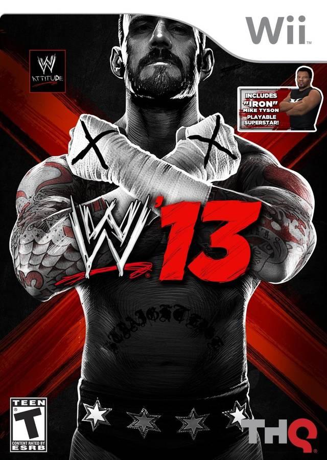 WWE 13 (USA) Game Cover