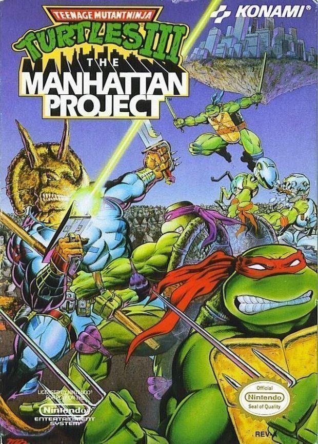 Teenage Mutant Ninja Turtles 3 (USA) Game Download Nintendo