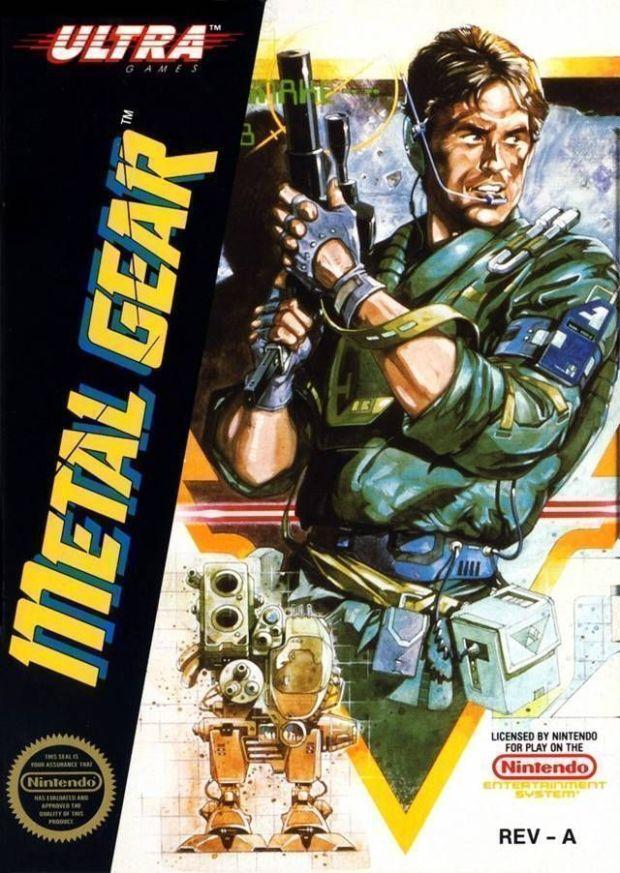 Metal Gear (USA) Game Download Nintendo