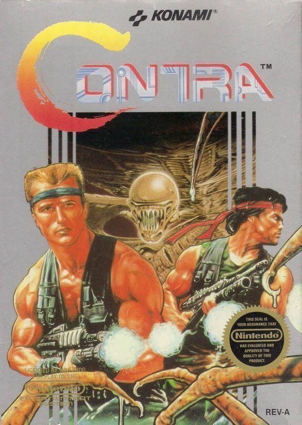 Contra (USA) Game Download Nintendo