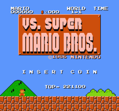 VS Super Mario Bros (VS) (USA) Game Download Nintendo