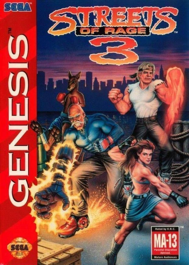 Streets Of Rage 3 (Europe) Game Download Sega Genesis