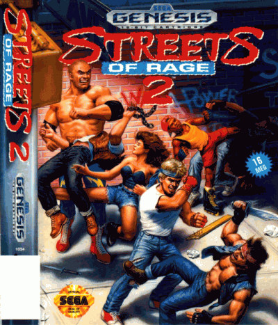 Streets Of Rage 2 (USA) Game Download Sega Genesis