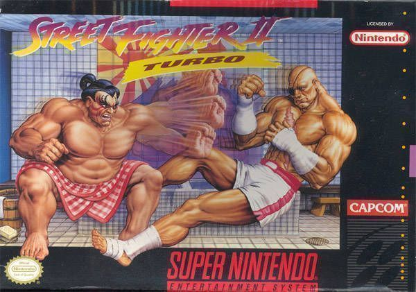 Street Fighter II Turbo (USA) Game Cover