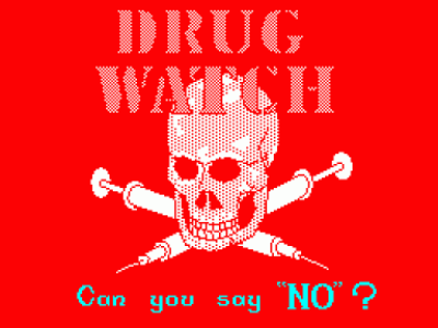 Drug Watch (1985)(Nottinghamshire Constabulary) (USA) Game Download ZX Spectrum