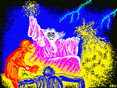 Druid II – Enlightenment (1986)(Firebird Software) (USA) Game Download ZX Spectrum