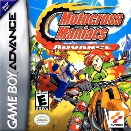 Motocross Maniacs Advance   Gameboy Advance GBA  ROM Download Motocross Maniacs Advance