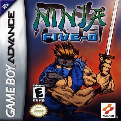 Ninja Five 0   Gameboy Advance GBA  ROM Download Ninja Five 0
