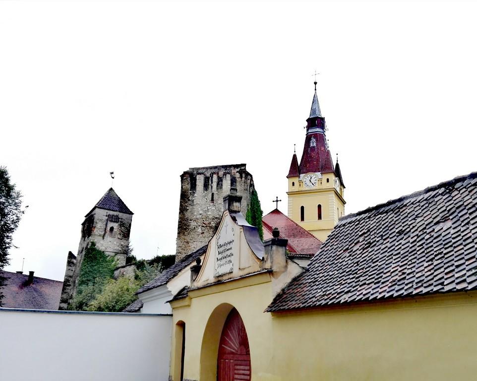 Biserica fortificata Cristian obiective turistice Brasov Romania 63