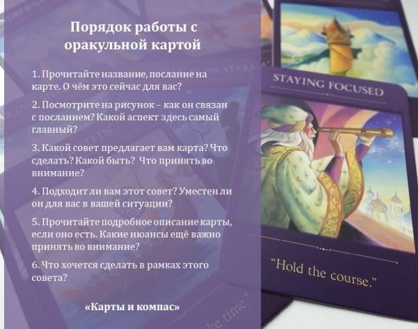 Оракулы метафорические карты Карты и компас