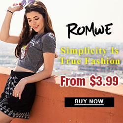 Romwe Fashion T-shirts