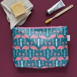 Rosa-and-Clara-Designs-Flamingo+Flourish+wash+bag