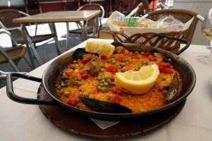 Paëlla in Sevilla