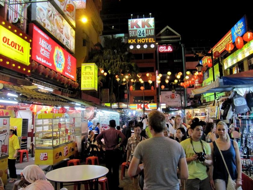 China Town in Kuala Lumpur