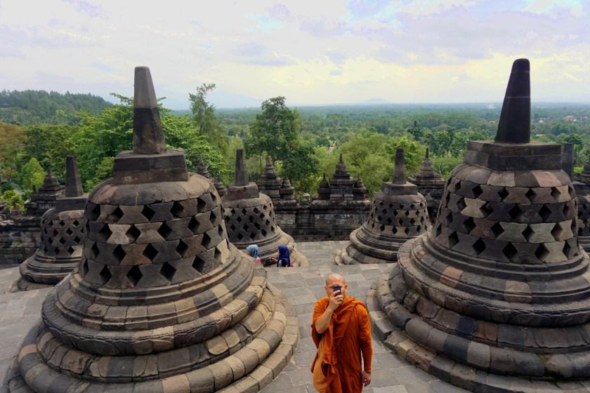 Borobodur, Java, Indonesië