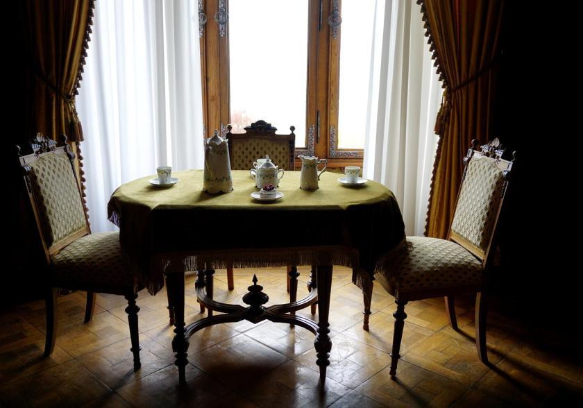 Eén van de vertrekken in Schloss Drachenburg