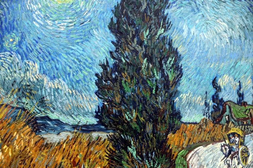 kroller moller museum, detail Van Gogh