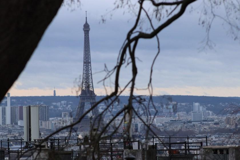 Uitzicht vanaf Montmartre