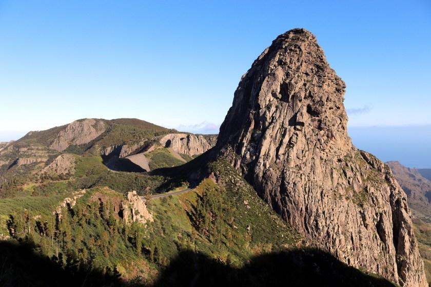 Roque de Agando op La Gomera