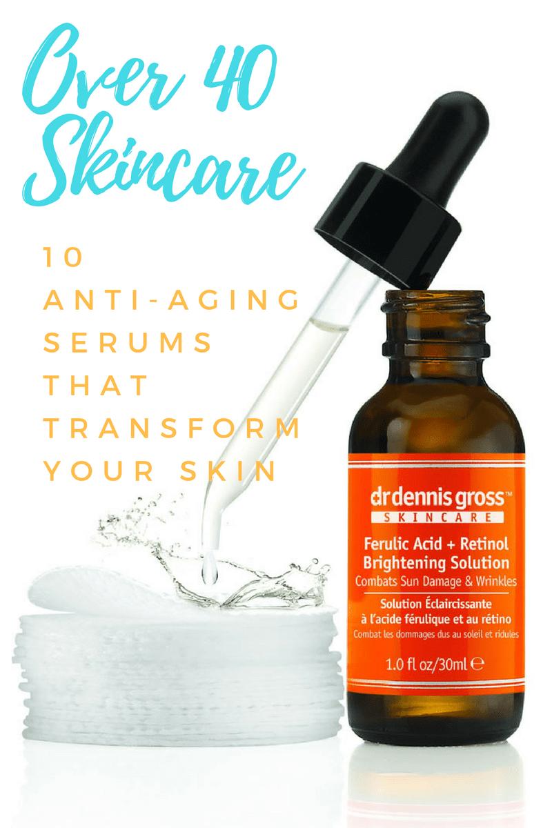 Skincare, 40 Plus