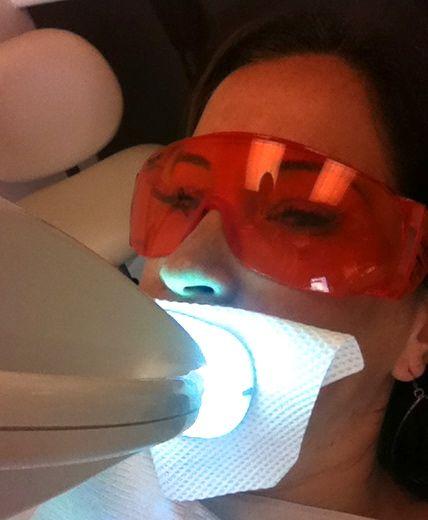 Teeth White Light